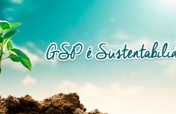 A GSP e a Sustentabilidade