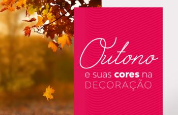 Outono e suas cores na decoração